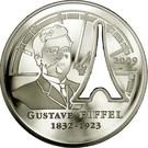 10 Euro (Gustave Eiffel) – obverse