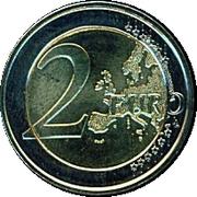 2 Euro (10 Years of EMU) -  reverse