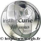 10 Euro (Curie Institute) – reverse