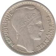 10 Francs (Large Head) -  obverse