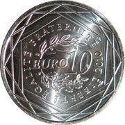 10 Euro (Île de France, 1st type) -  reverse