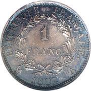 1 Franc - Napoleon I -  obverse