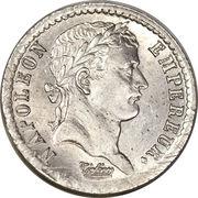 ½ Franc - Napoleon I -  obverse