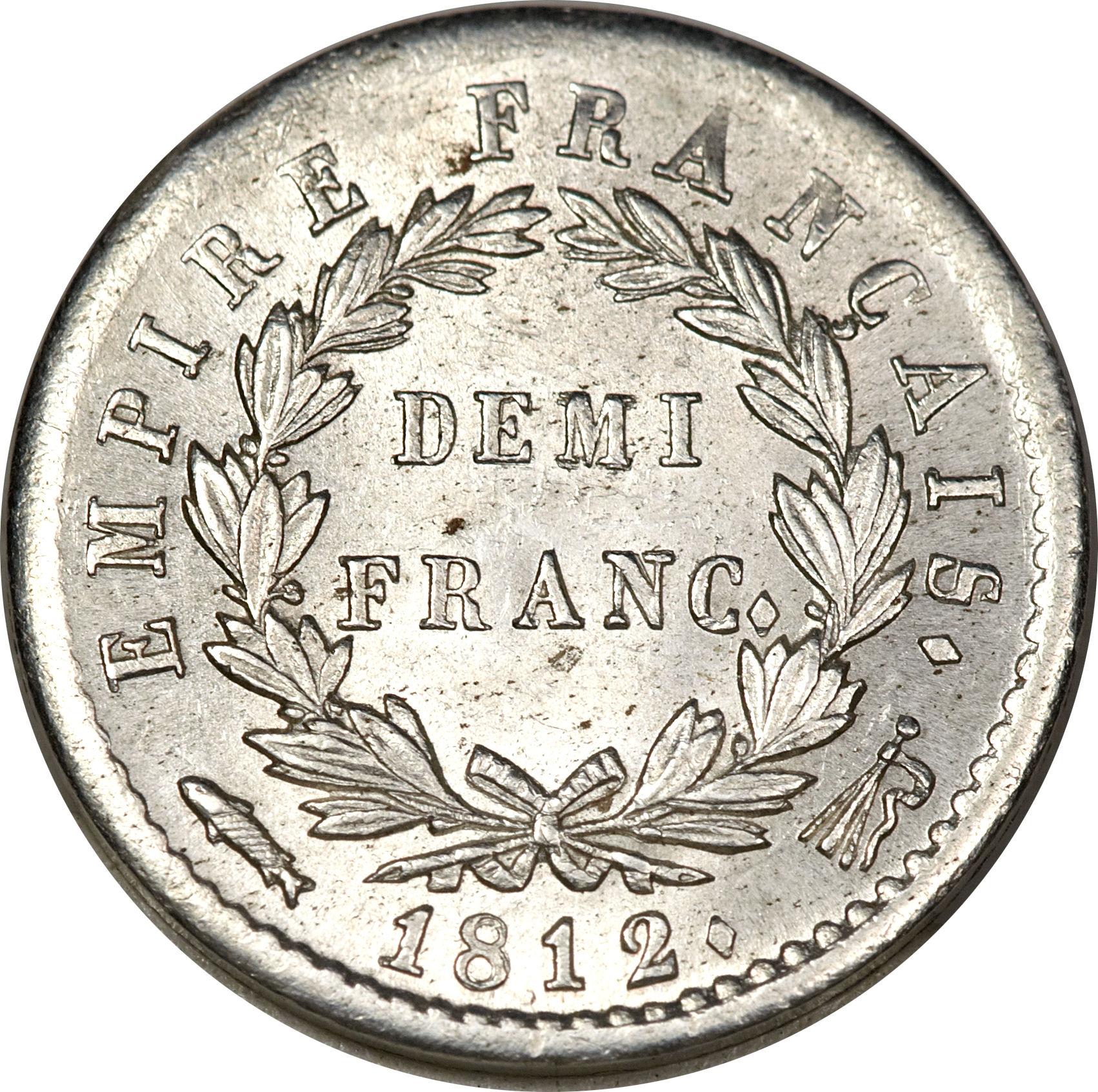 Franc napoleon i france numista for France francs
