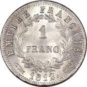 1 Franc - Napoleon I -  reverse