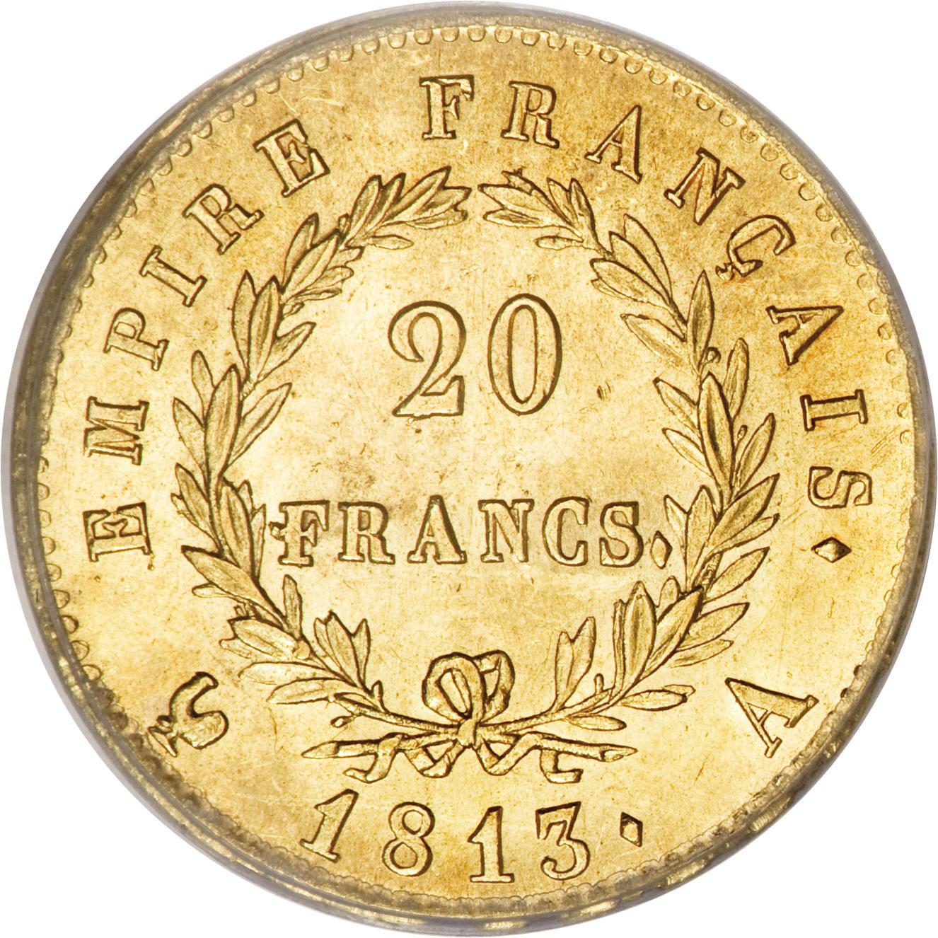 20 francs emperor napol on france numista for France francs