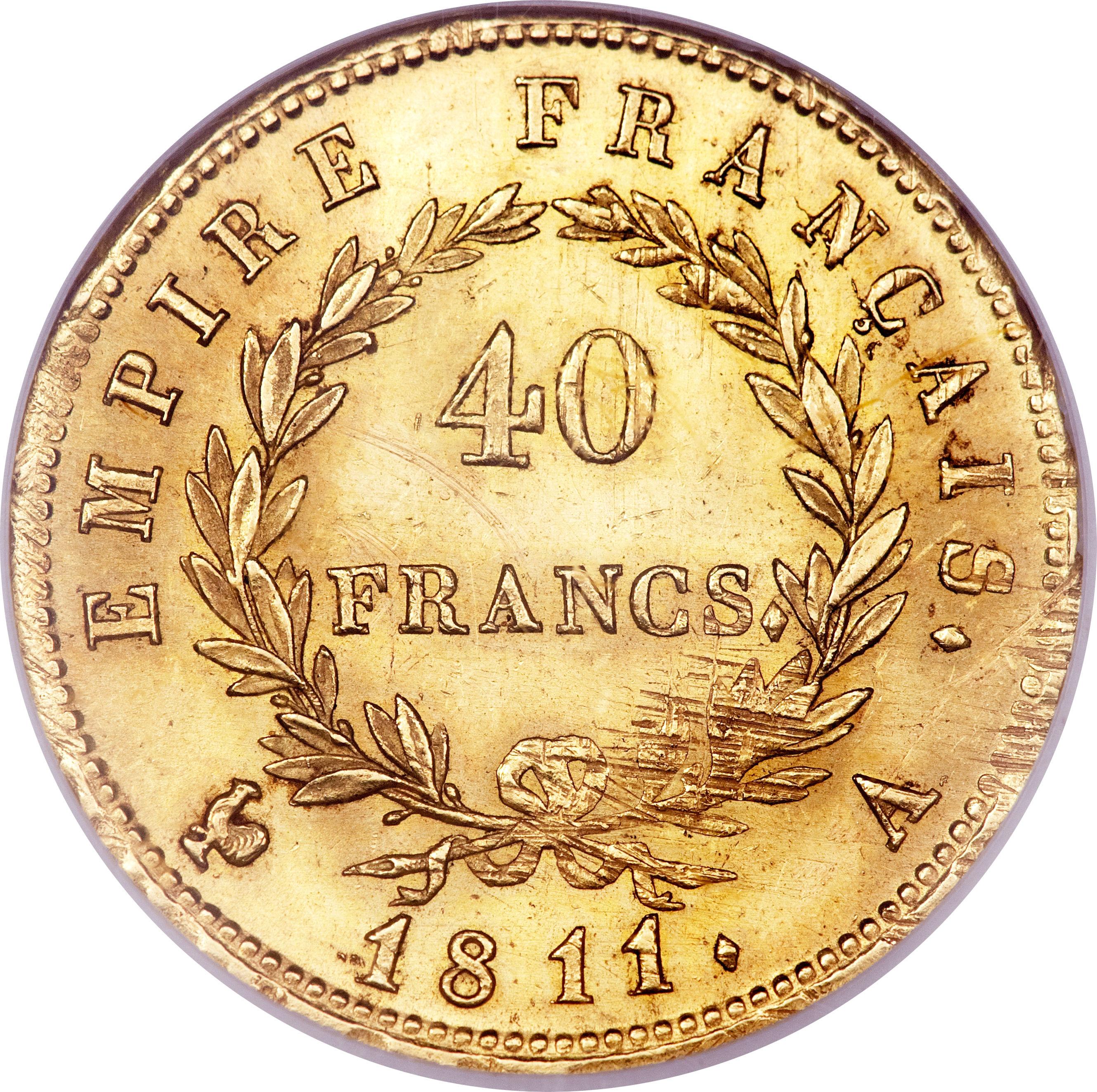 40 франков деньги гонконга