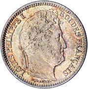 2 Francs - Louis-Philippe -  obverse
