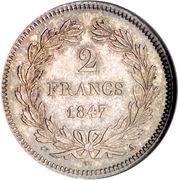 2 Francs - Louis-Philippe – reverse