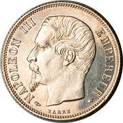 1 Franc - Napoleon III -  obverse