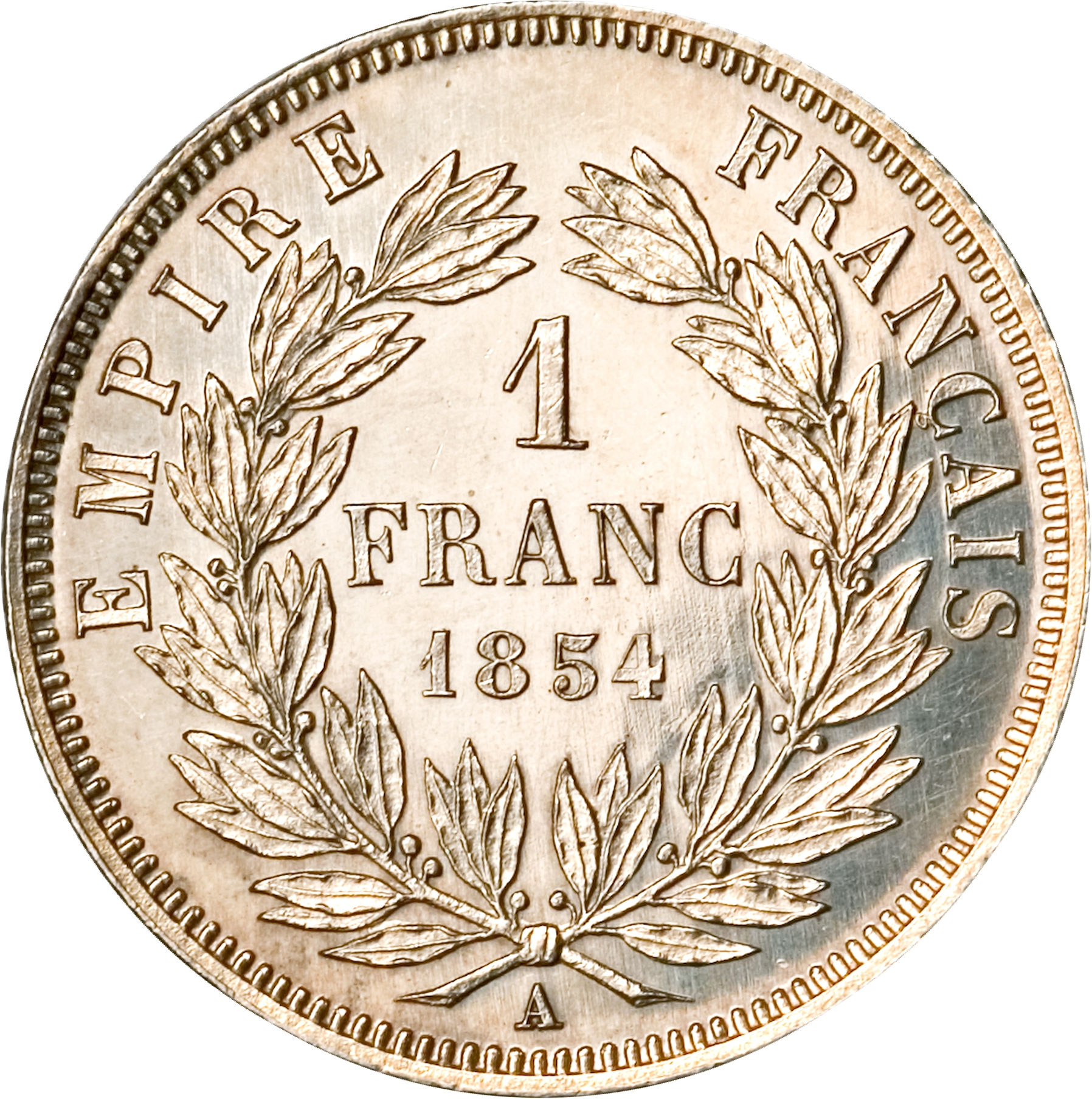 1 franc napoleon iii france numista