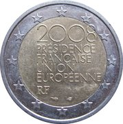 2 Euro (French Presidency of the EU) -  obverse