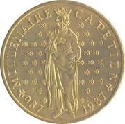 10 Francs (Hugh Capet) -  obverse