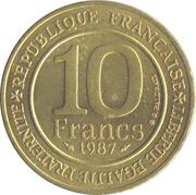 10 Francs (Hugh Capet) -  reverse