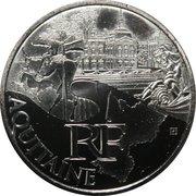 10 Euro (Aquitaine) -  obverse