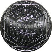 10 Euro (Aquitaine) - reverse