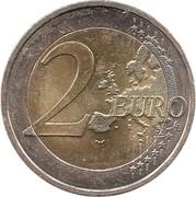 2 Euro (2nd map) -  reverse