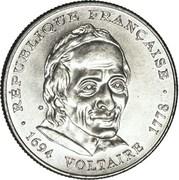 5 Francs (Voltaire) -  obverse