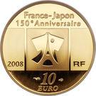 10 Euro (Japanese Relations) – obverse