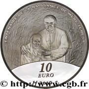 10 Euro (Mother Teresa) -  reverse