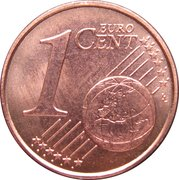 1 Euro Cent -  reverse