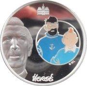 1½ Euro (Tintin and Captain Haddock) – obverse