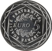 5 Euro (La Semeuse) -  reverse