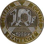 10 Francs (Montesquieu) -  obverse