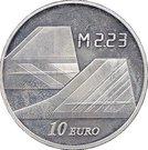 10 Euro (Concorde Eurostar) – reverse