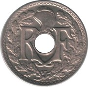 5 Centimes (year with points) -  obverse