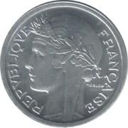 1 Franc (aluminium, heavy) -  obverse