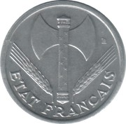 1 Franc (Vichy French State - light type) -  obverse