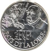10 Euro (Pays de la Loire) -  obverse