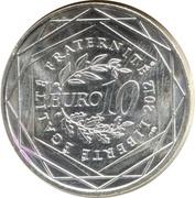 10 Euro (Pays de la Loire) -  reverse