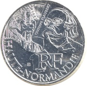 10 Euro (Haute-Normandie) -  obverse