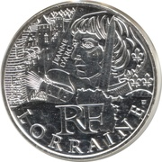10 Euro (Lorraine) -  obverse