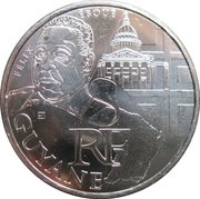 10 Euro (Guyane) -  obverse