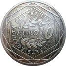10 Euro (La Semeuse) – reverse