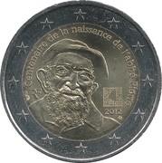 2 Euro (Birth of Abbé Pierre) -  obverse