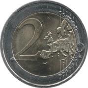 2 Euro (Birth of Abbé Pierre) -  reverse