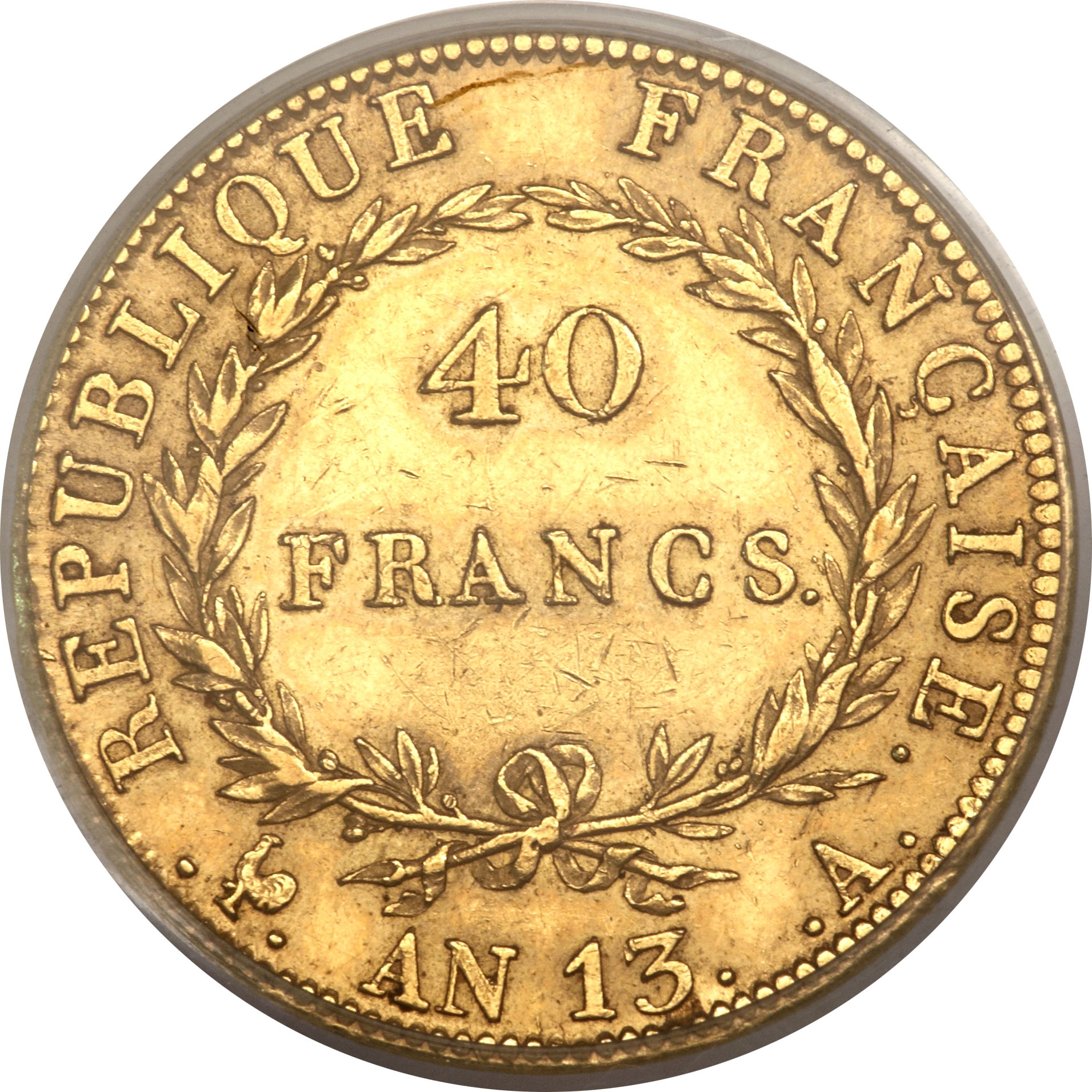 40 francs napol on i france numista for France francs