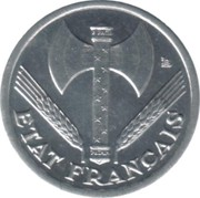 50 Centimes (Vichy French State; heavy type) -  obverse