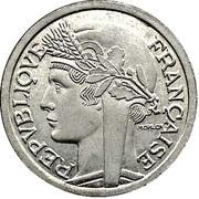 1 Franc - Graziani - Zinc -  obverse