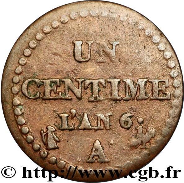 Centime - France - Numista