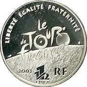 1½ Euro (Arriving at the Champs-Élysées) – reverse