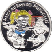 1½ Euro (Alice in Wonderland) -  obverse