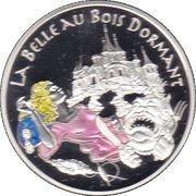 1½ Euro (Sleeping Beauty) -  reverse