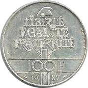 100 Francs (La Fayette) -  reverse