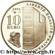 10 Euro (Napoleon I) – reverse