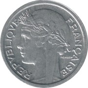 1 Franc (light type) -  obverse